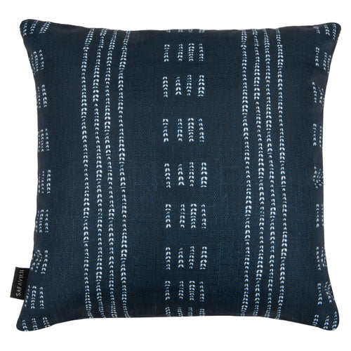 Deep Blue & White Madelyn Pillow