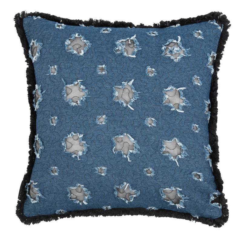 Blue & Navy Tosh Pillow