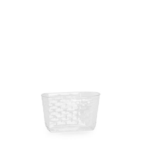 Red & White Medium Boardwalk Basket Set with Free Protector