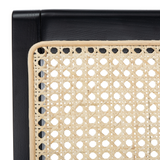 Black & Natural Auckland Rattan Accent Chair