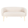 Off-White Alena Loveseat