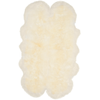 White Sheep Skin Rug