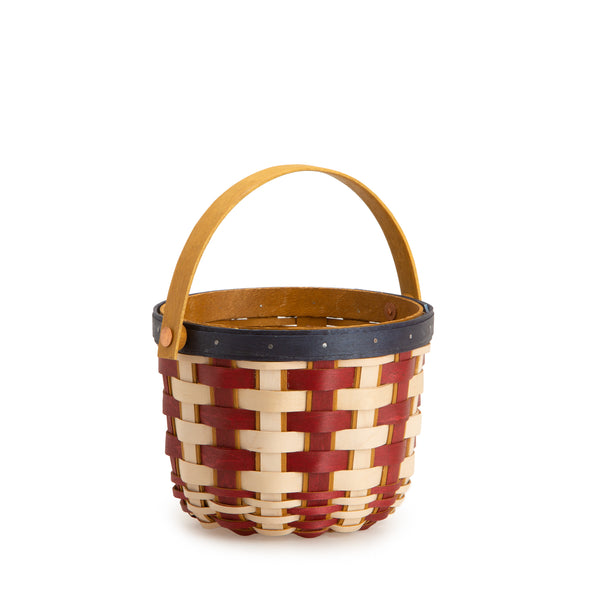 Americana Short Round Fruit Basket Set with Free Protector