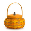 Yellow, Orange & Warm Brown Pumpkin Basket Set