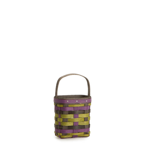 Black, Green & Purple Little Pumpkin Basket Set