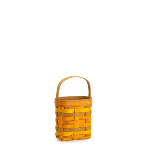 Yellow, Orange & Warm Brown Little Pumpkin Basket Set