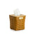 Warm Brown 1973 Tall Tissue Basket Set