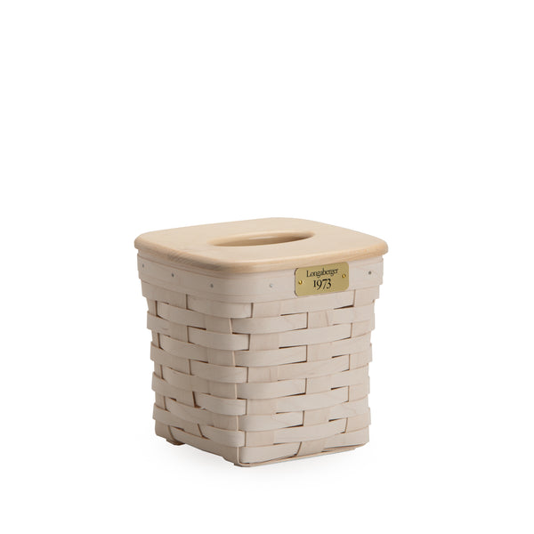 White 1973 Tall Tissue Basket Set with Free Protector
