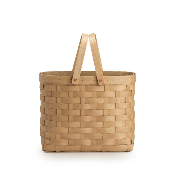 Light Brown Wine Caddy Basket