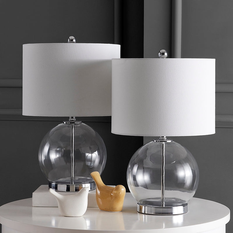 Clear Lonni Table Lamp Set