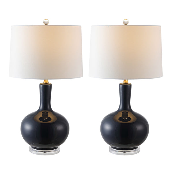 Navy Nilla Table Lamp Set