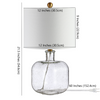 Clear Armena Table Lamp