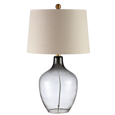 Grey Larzen Table Lamp