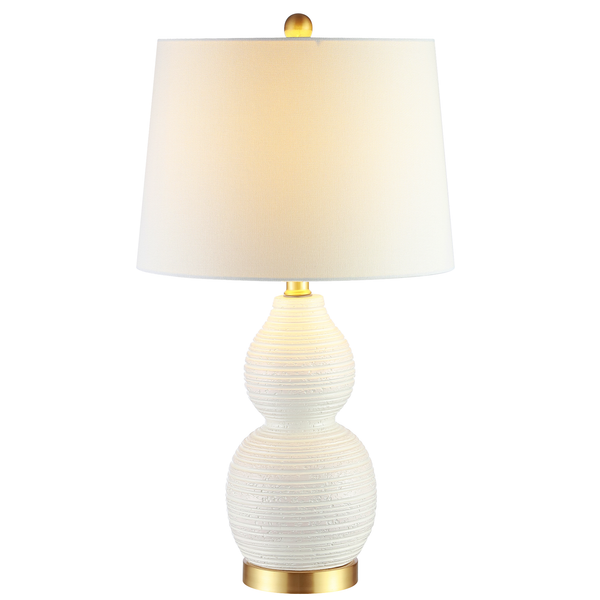 White Darsa Table Lamp