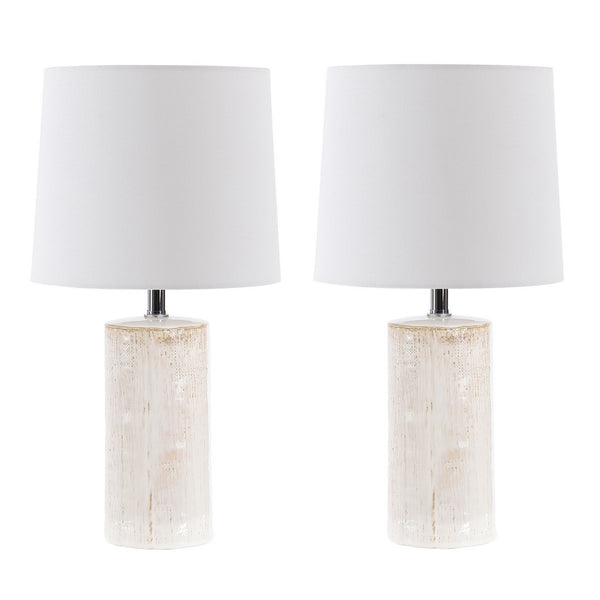 Jonie Ceramic Table Lamp Set