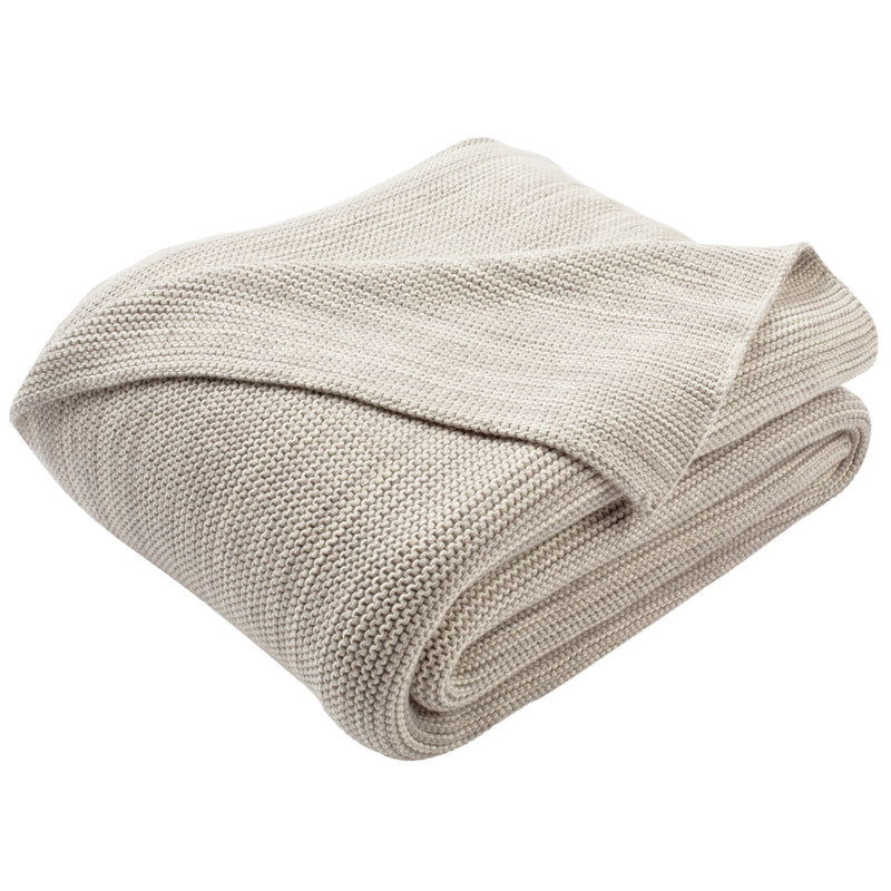 Grey Loveable Knit Throw