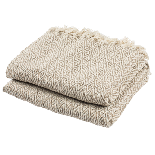Beige Danita Throw