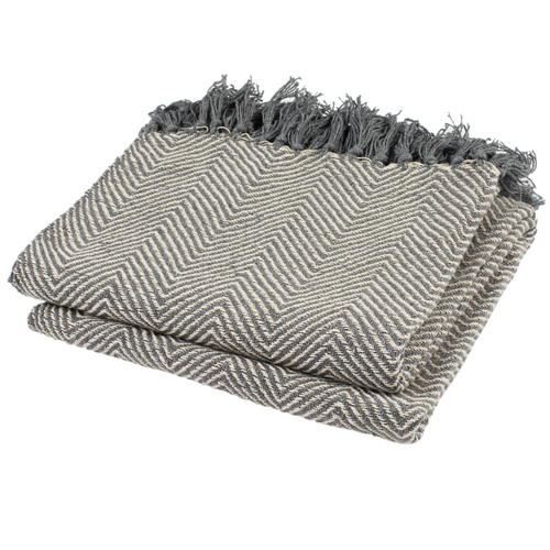 Grey Amada Throw