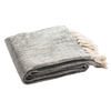 Grey & Silver Jacqui Metallic Throw