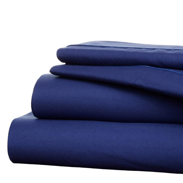 Twilight Navy Blue Sheet Set