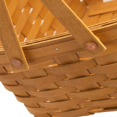 Cake Basket with Swinging Handles