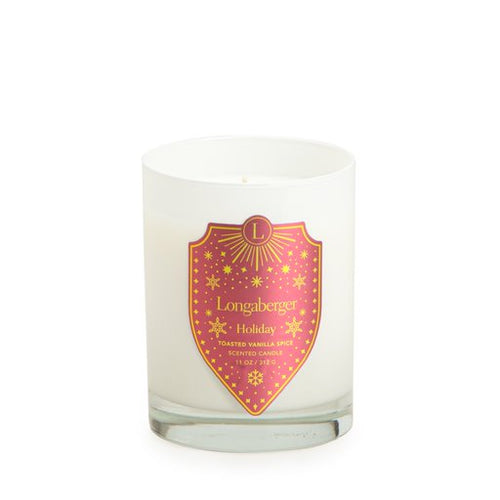 Toasted Vanilla Spice Holiday Candle