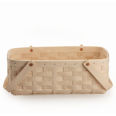 Large Handled Rectangle Organizing Basket