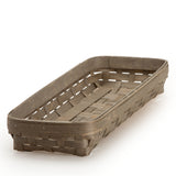 Long Rectangle Serving Basket