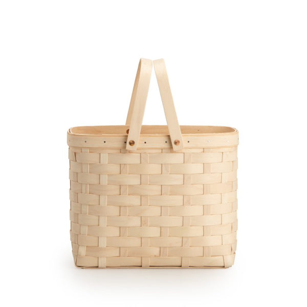 White Wine Caddy Basket