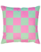 DOUBLE SIDED: CHECKERBOARD CUSHION COVER