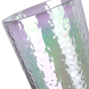 IRIDESCENT RAINBOW TALL GLASS