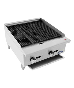 HD 24″ Char-Rock Broiler | Cook Rite | ATCB-24