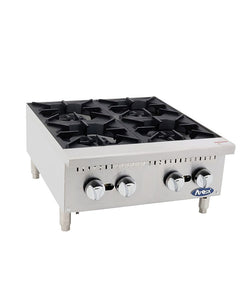 HD 24″ Four Burner Hotplate | Cook Rite | ATHP-24-4
