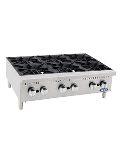 HD 36″ Six Burner Hotplate | Cook Rite | ATHP-36-6