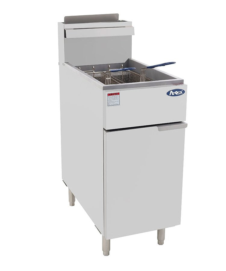 HD 40lb S/S Deep Fryer | Cook Rite | ATFS-40