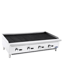 HD 48″ Char-Rock Broiler | Cook Rite | ATCB-48