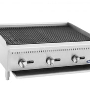 Load image into Gallery viewer, HD 36″ Char-Rock Broiler | Cook Rite | ATCB-36