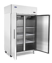 Load image into Gallery viewer, Two Door Refrigerator | Top Mount | Atosa | MBF8005