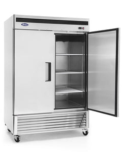 Two Door Refrigerator | Bottom Mount | Atosa | MBF8507