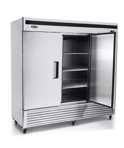 Three Door Refrigerator | Bottom Mount | Atosa | MBF8508