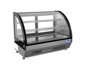 Countertop Curved Refrigerated Display | 3.5 Cu.Ft | Atosa | CRDC-35