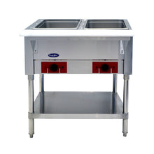 Load image into Gallery viewer, Double Well Electric Steam Table | CookRite | CSTEA-2A