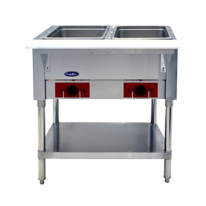 Double Well Electric Steam Table | CookRite | CSTEA-2A