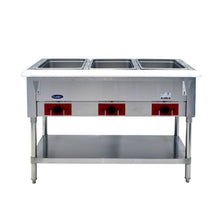 Load image into Gallery viewer, Triple Well Electric Steam Table | CookRite | CSTEA-3B