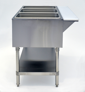 Quadruple Well Electric Steam Table | CookRite | CSTEA-4A