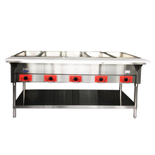 Load image into Gallery viewer, Five Well Electric Steam Table | CookRite | CSTEB-5B