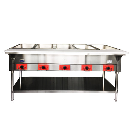Five Well Electric Steam Table | CookRite | CSTEB-5A