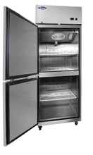 Load image into Gallery viewer, Two Divided Door Freezer | Left Hinge | Top Mount | Atosa | MBF8007GRL