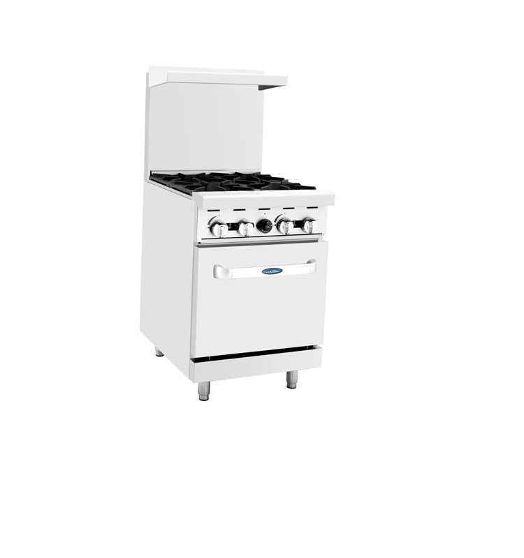 2' Range | 4 Burners | Single Oven | Cook Rite | ATO-4B