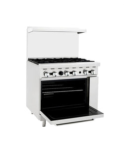 3' Range | 6 Burners | Single Oven | Cook Rite | ATO-6B